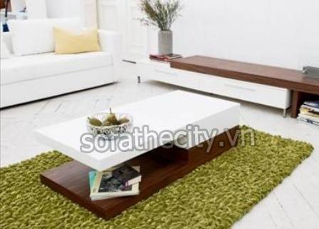 Bàn Sofa màu trắng – BS-024