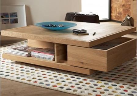Bàn Sofa gỗ cao cấp