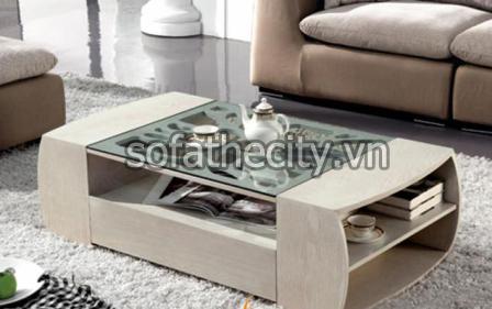 Bàn kính Sofa uống trà cho phòng khách – BS-09