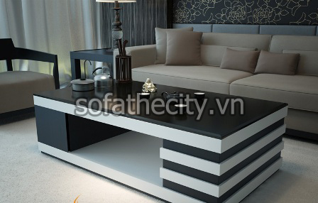 Bàn kính Sofa cho phòng khách giá rẻ – BS-010