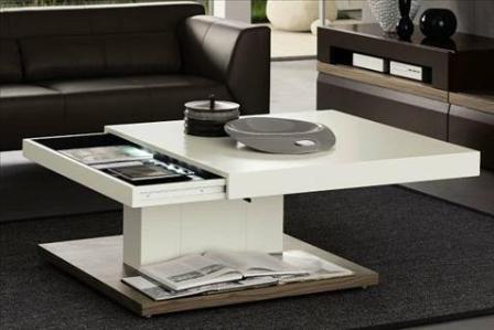 Bàn Sofa gỗ phòng khách nhỏ