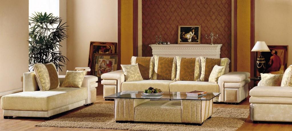 Sofa tron bộ cho phòng khách giá khuyến mãi