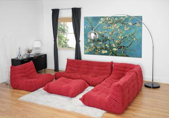 Sofa da trọn bộ cao cấp