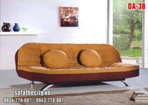 Sofa Bed Cao Cấp Màu Nâu