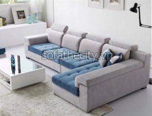 Sofa Góc Giả Da Cao Cấp