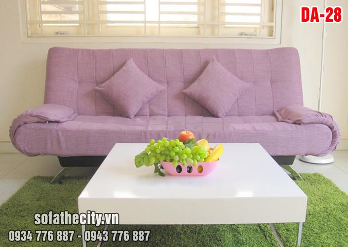 Sofa Giường Cao Cấp Tím Nhẹ Nhàng