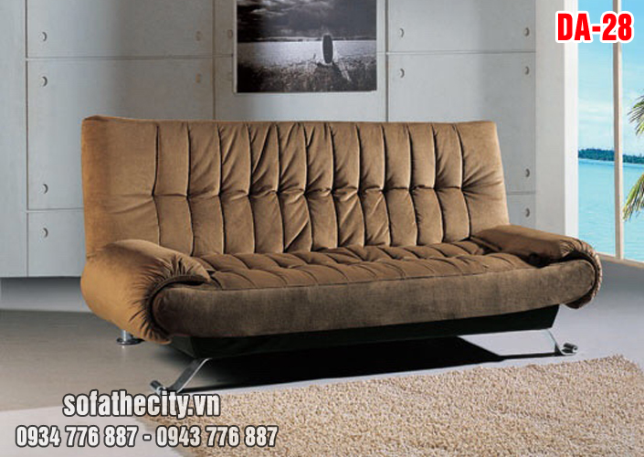 Sofa Giường Cao Cấp Màu Nâu