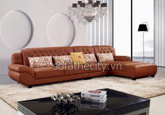 Mẫu Sofa Da Nhập Khẩu Đẹp Và Thông Dụng