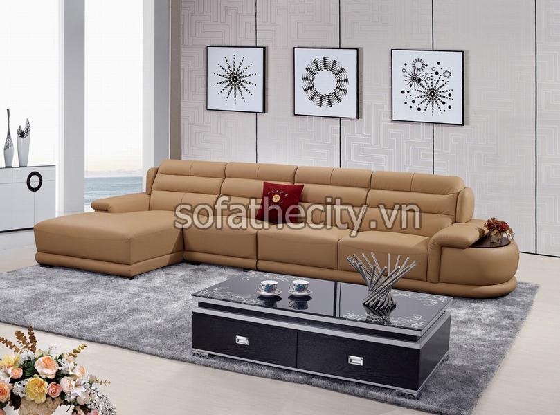 Sofa Da Cao Cấp Dành Cho Phòng Khách