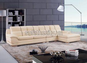 Bộ Ghế Sofa Màu Kem Giá Rẻ K859