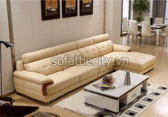 Ghế Sofa Giả Da Cao Cấp Chất Lượng K853
