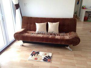 Sofa Bed Màu Nâu Sang Trọng – DA28(6)
