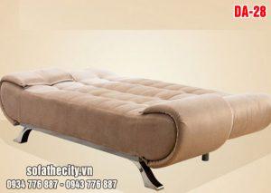 Sofa Giường Mẫu Đẹp Màu Kem Nâu