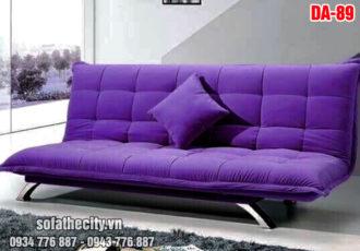 Sofa Bed Màu Tím Lãng Mạn