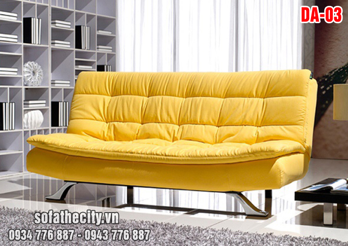 Sofa Giường Màu Vàng