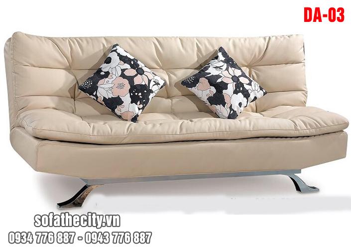 Sofa Bed Màu Kem Cao Cấp