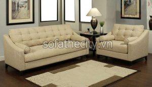 Sofa Băng Giả Da Cao Cấp Thái B14