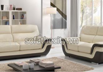 Sofa Băng Giả Da Thái Cực Đẹp B22