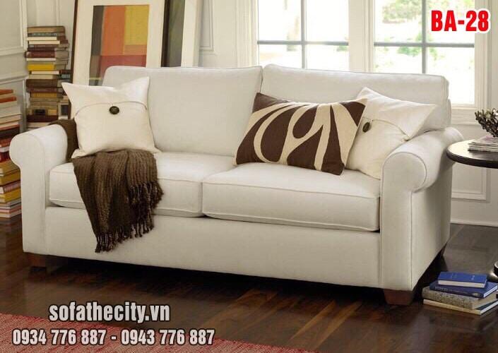 Sofa Băng Màu Kem Cao Cấp