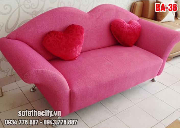 Sofa Băng Màu Hồng Dễ Thương