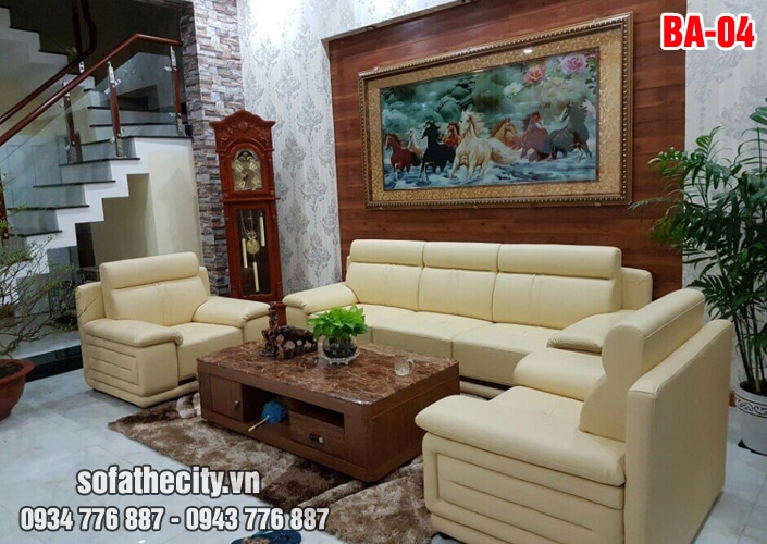 Sofa Băng Trọn Bộ Cho Phòng Khách Lớn Siêu Đẹp