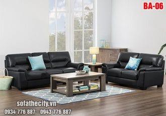 Sofa Băng Trọn Bộ Da Hàn Quốc