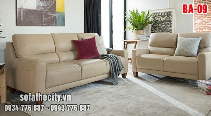 Sofa Băng Màu Kem Đẹp Lôi Cuốn