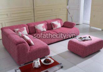Sofa Góc Màu Hồng G12