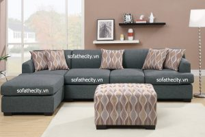 Sofa Góc Vải Bố Cao Cấp Giá Rẻ