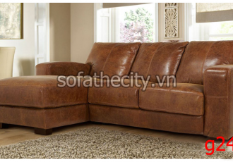 Sofa Góc Giả Da Thái