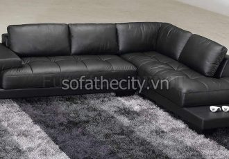 Bộ Ghế Sofa Phòng Khách Giả Da K867