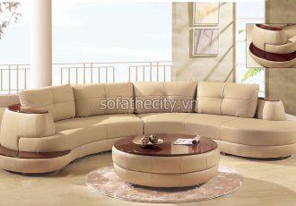 Bộ Ghế Sofa Phòng Khách Giả Da K869