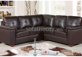 Bộ Ghế Sofa Phòng Khách Giả Da K870