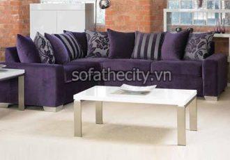 Bộ Ghế Sofa Phòng Khách Màu Tím K872