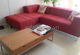 Sofa Góc Màu Đỏ G11