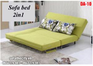 Sofa Giường Đẹp Màu Xanh Cốm Nổi Bật