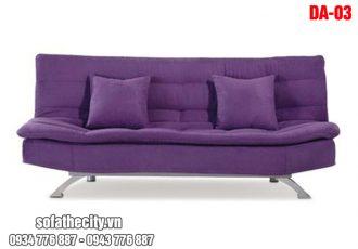 Sofa giường màu tím giá rẻ