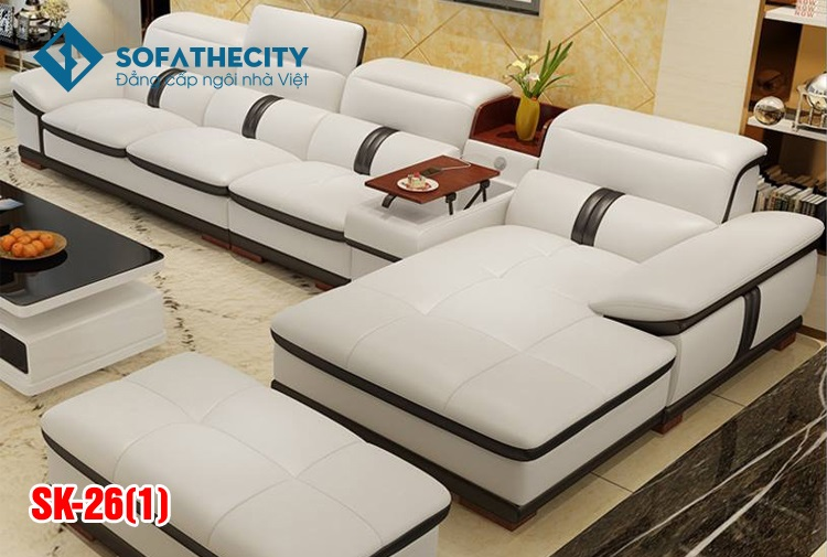 Sofa Phòng Khách Cao Cấp SK 26