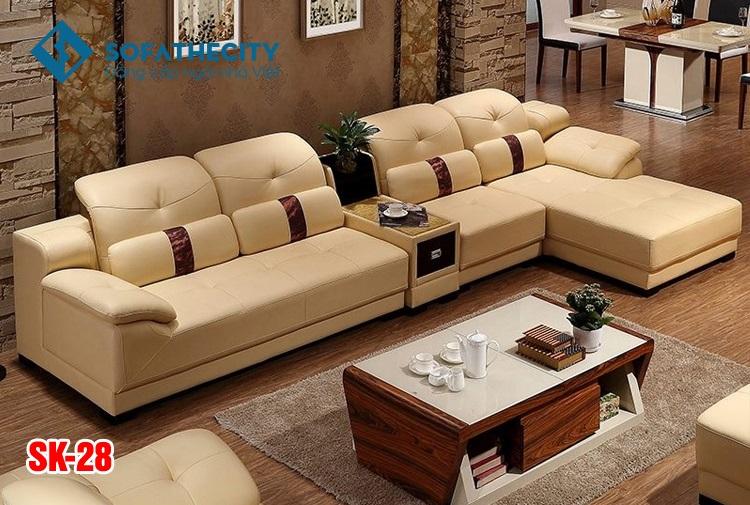 Sofa Phòng Khách Cao Cấp SK 28