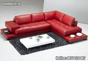 Sofa góc da cao cấp mẫu cực đẹp