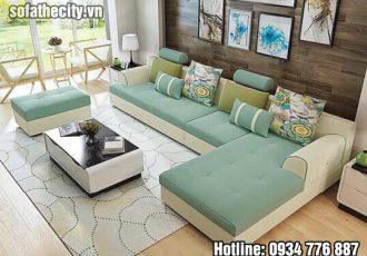 Sofa góc nhập khẩu đủ màu sắc đẹp lung linh
