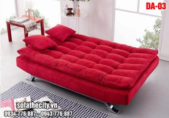 Sofa Giường Cao Cấp Giá Rẻ Màu Đỏ