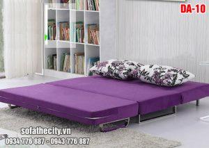 Mẫu Sofa Giường Màu Tím Cực Sang