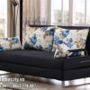 Mẫu Sofa Giường Đẹp Màu Đen Sang Trọng