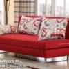 Mẫu Sofa Giường Màu Đỏ Sang Chảnh