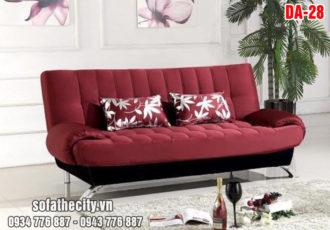 Sofa Giường Đa Năng Mẫu Đẹp Màu Đỏ Đô