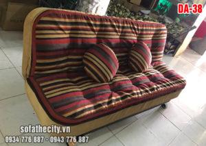 Mẫu Sofa Giường Sọc Ngũ Sắc
