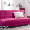 Sofa Bed Cao Cấp Màu Hồng Dễ Thương