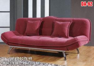 Sofa Bed Màu Đỏ Mận
