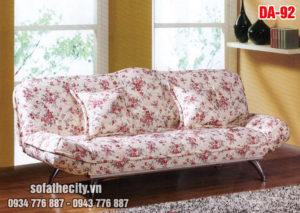 Sofa Giường Họa Tiết Bông Cực Sang